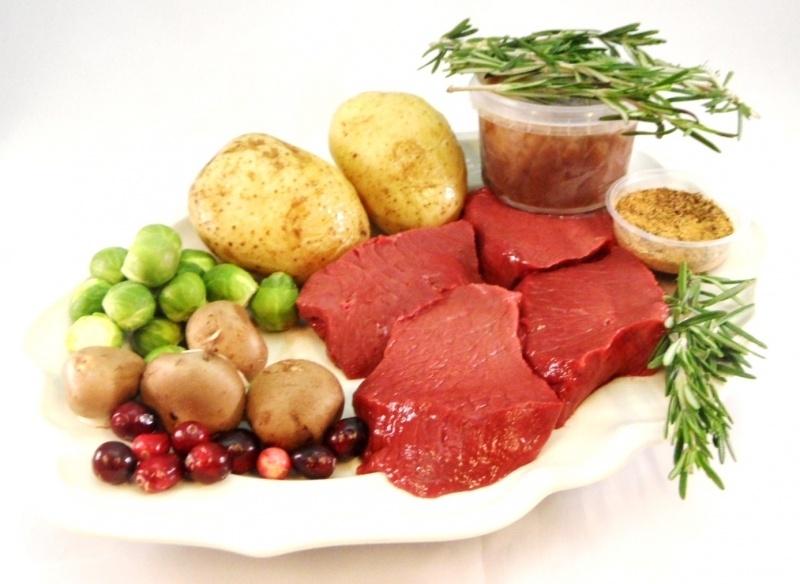 Herten Biefstuk +/- 150 gram per stuk