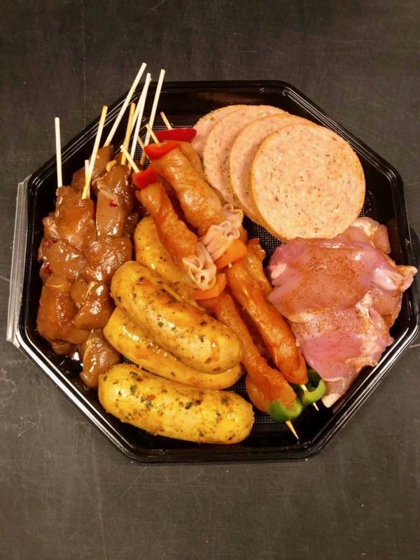 BBQ Straathof Compleet -Extra Veel Vlees Box