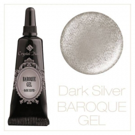 Baroque gel dark silver