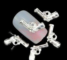 pistool zilver