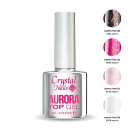Crystal nails Top gel