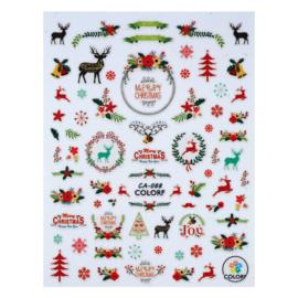 CN nail sticker (CA088-christmas)
