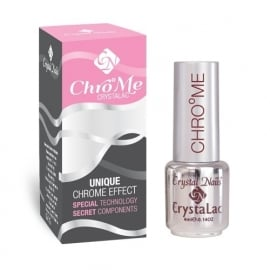 CrystaLac ChroMe Top, Crystal Nails