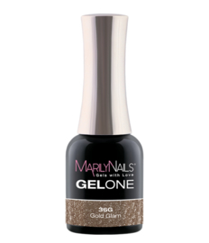 MN GelOne#36 Gold glam