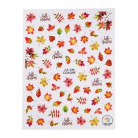 CN nail sticker autumn leaves (CA-348)