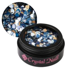 CN Love nail art sequin- Storm