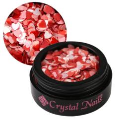 CN Love nail art sequin- Sweetheart