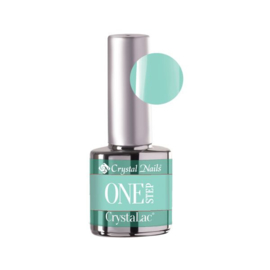 Gel Polish One Step Crystalac 1S61- 4ml - Soft mint green