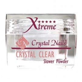 Crystal nails Xtreme clear slower powder 40ml [28g]