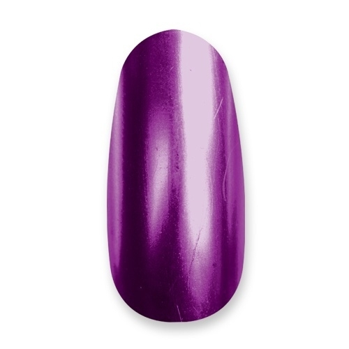 CrystaLac ChroMe, 08, 4 ml, Aubergine, Crystal Nails