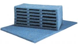 Japanse mat 120 x 100 x 3,8 cm blauw
