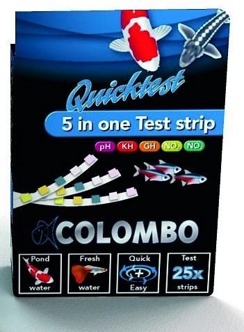Colombo Quicktest strips 25 stuks