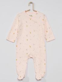 Pyjama/onesie/boxpakje bosdieren roze maat 62
