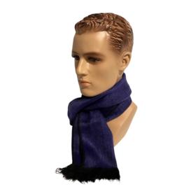 Alpacawollen sjaal paars