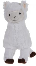 Knuffel alpaca wit