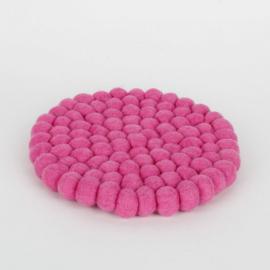 Roze rond 20 cm