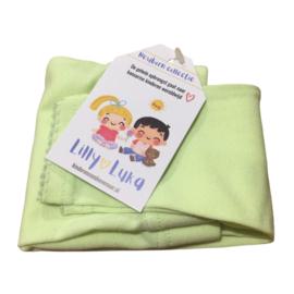 Babylegging lime-groen