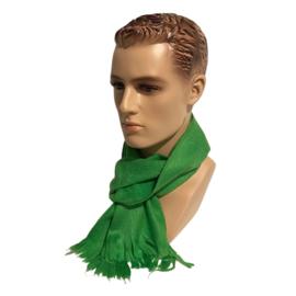 Alpacawollen sjaal felgroen