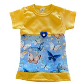 Babyjurkje vlinder lichtblauw