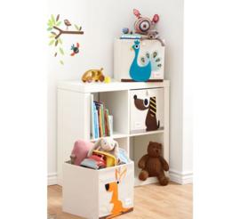 3 Sprouts opbergbox (past in IKEA Kallax kast) kangoeroe