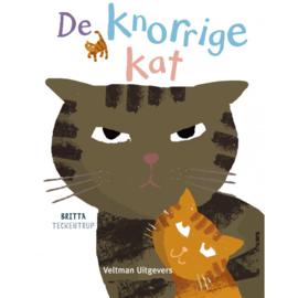 Peuterboekje De knorrige kat