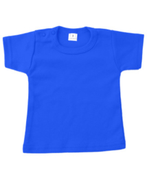 Basic t-shirt kobalt