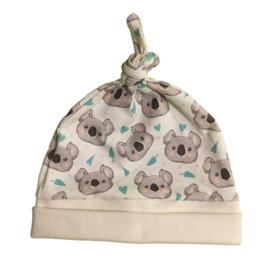 Babymutsje koala creme