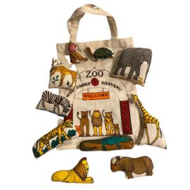 Tasje dierentuin met 10 dieren
