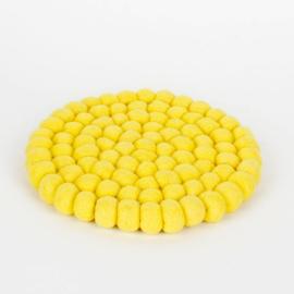 Geel rond 20 cm