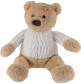 Knuffel beer met witte trui