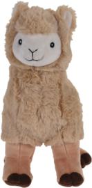 Alpaca knuffel bruin