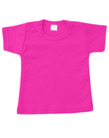 Basic t-shirt fuchsia