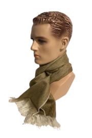 Alpacawollen sjaal bruin
