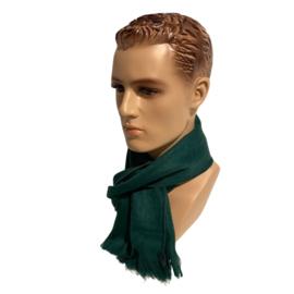 Alpacawollen sjaal donkergroen