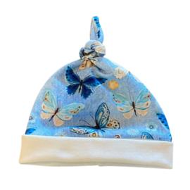Babymutsje vlinder lichtblauw