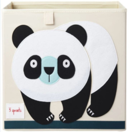 3 Sprouts opbergbox (past in IKEA Kallax kast) panda