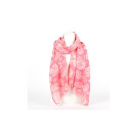 Sjaal butterfly roze