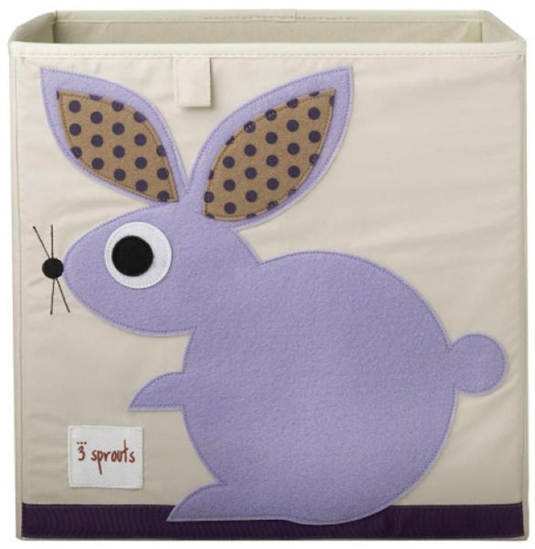 3 Sprouts opbergbox (past in IKEA Kallax kast) konijn