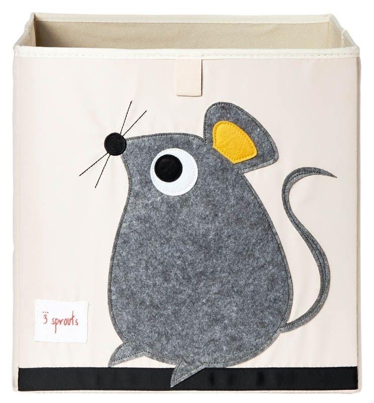 3 Sprouts opbergbox (past in IKEA Kallax kast) muis