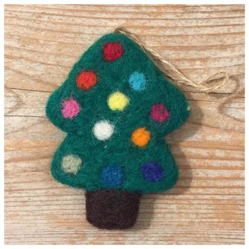 Kerstboom hanger groen