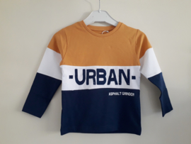 Shirt URBAN okergeel mt 92 tm 164