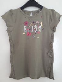 T-shirt BLOOM groen mt 92 tm 122/128