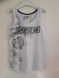 Singlet A PERFECT DAY grijs mt 140 tm 176