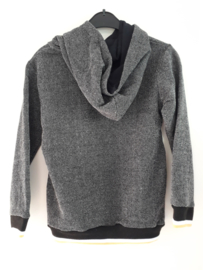 Sweater ZWART (mt 92 tm 164)