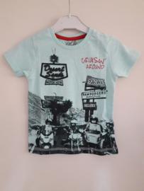 Shirt CRUISIN groen mt 92 tm 122/128
