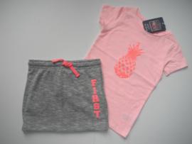 T-shirt ANANAS roze (mt 92 tm 122/128)