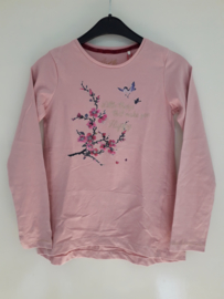 Longsleeve LITTLE THINGS... roze (mt 92 tm 122/128)