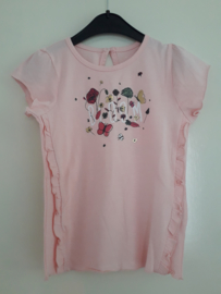 T-shirt BLOOM roze mt 92 tm 122/128