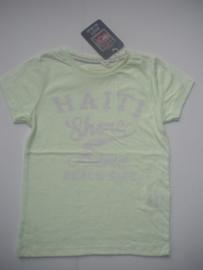 T-shirt HAITI neon geel (mt 92 tm 122/128)