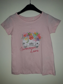 T-shirt SUMMERLOVE roze mt 92 tm 122/128